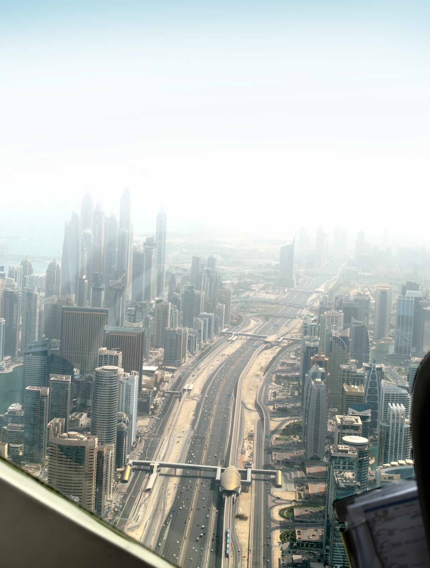 View of Sheikh Zayed Road | Image © ExpatAlli.com