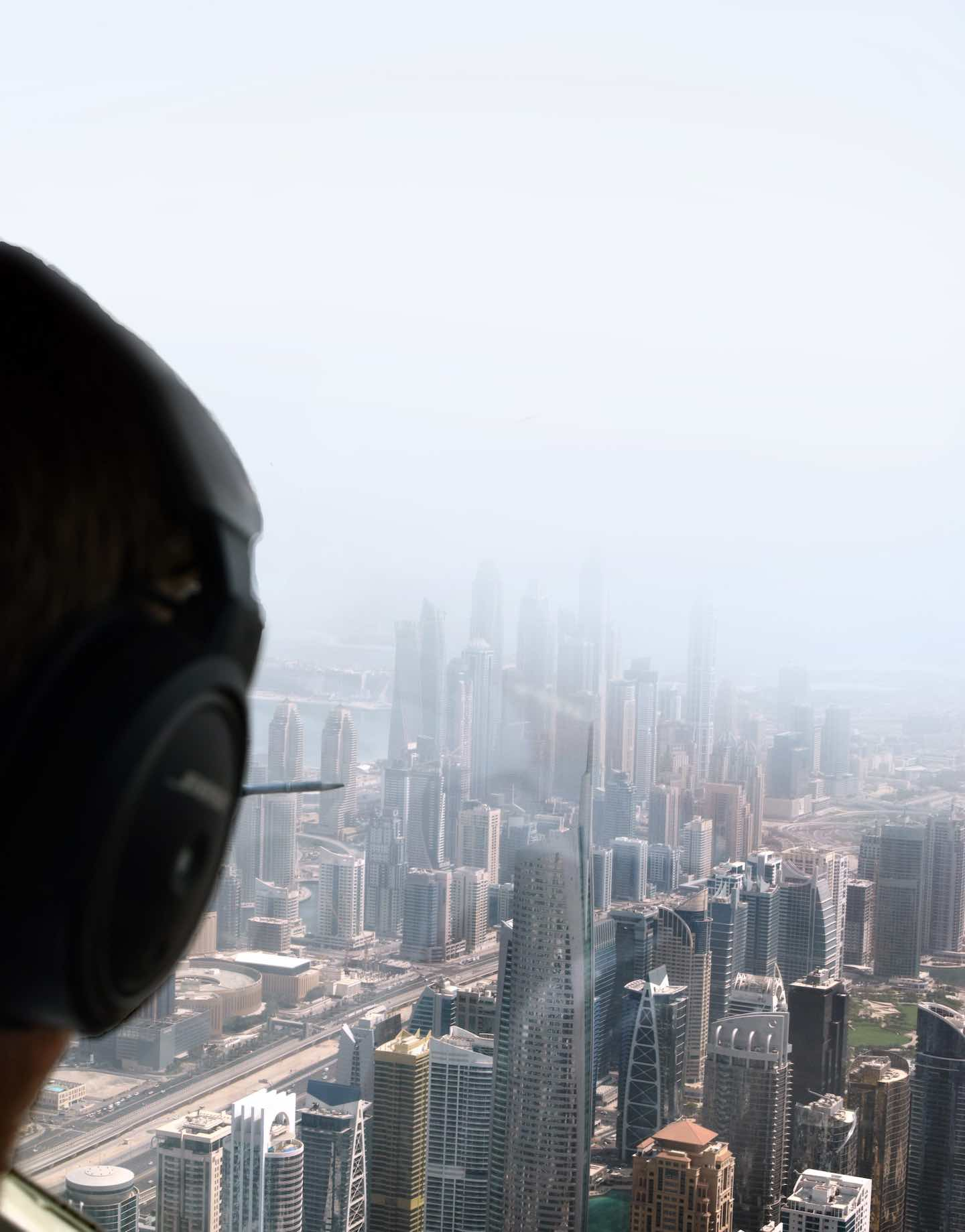 View out the pilot's side | Image © ExpatAlli.com