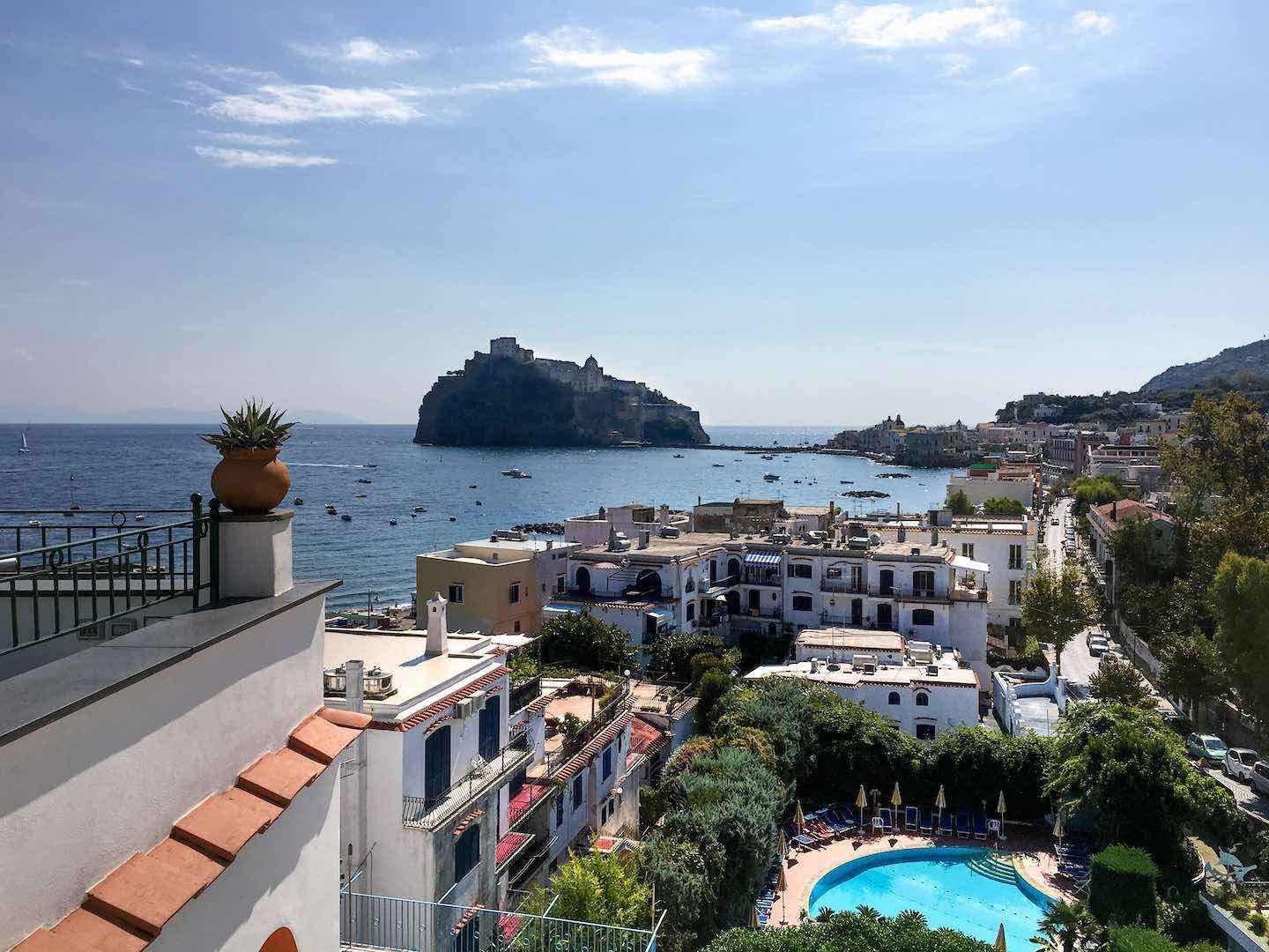 View from Hotel Ulisse, Ischia | Image © ExpatAlli.com