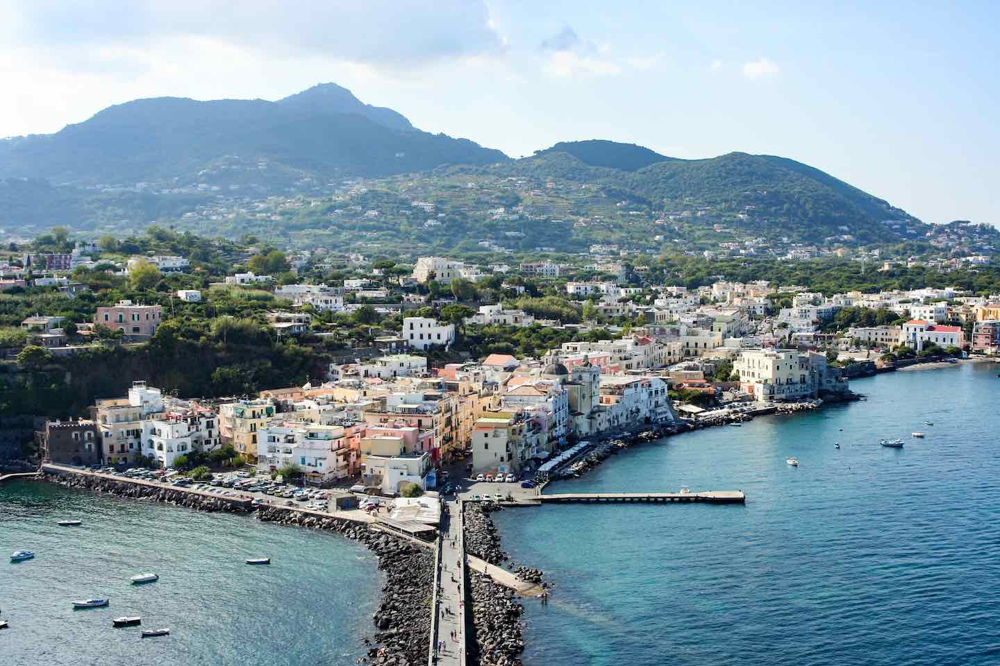 View from Ischia's historic Aragonese Castle | Image © ExpatAlli