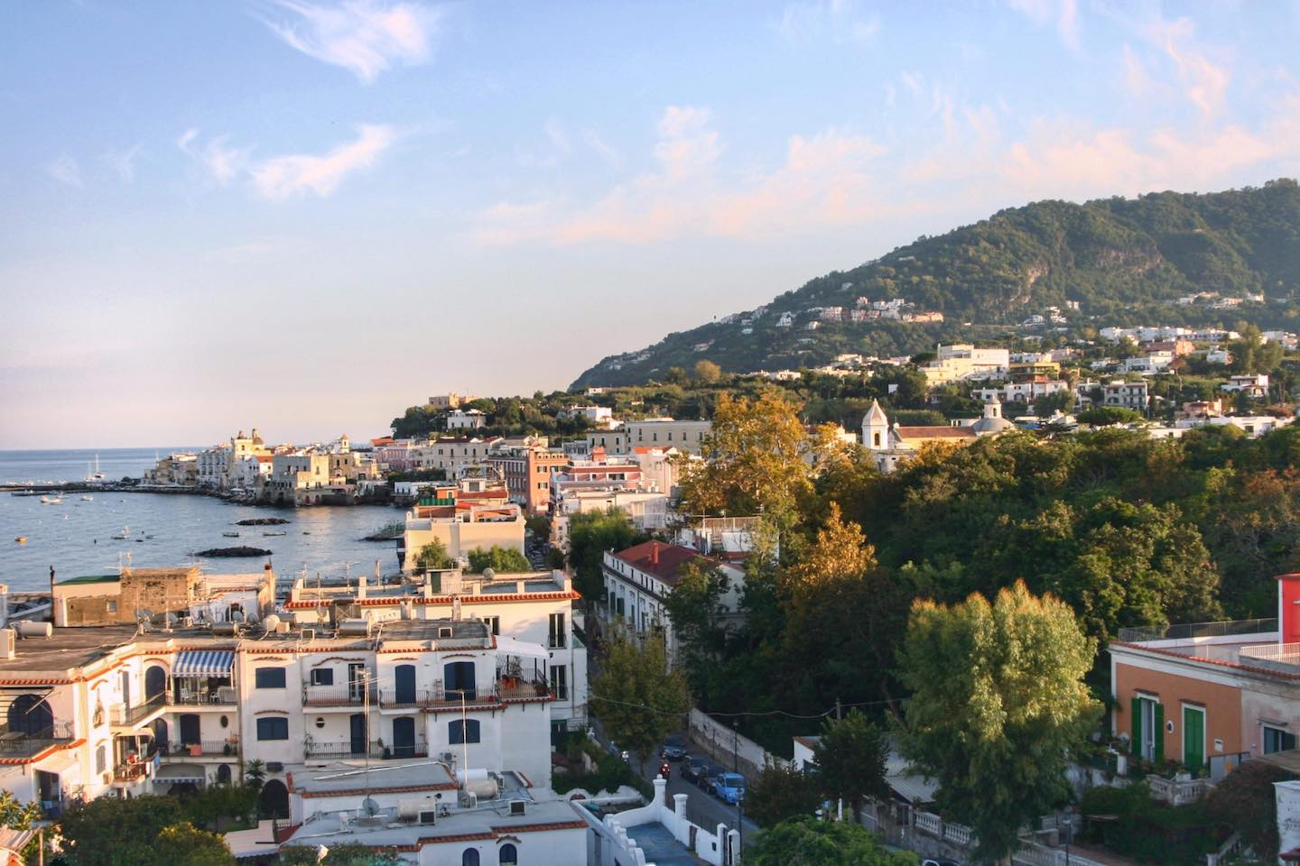 View of Ischia town | Image © ExpatAlli.com