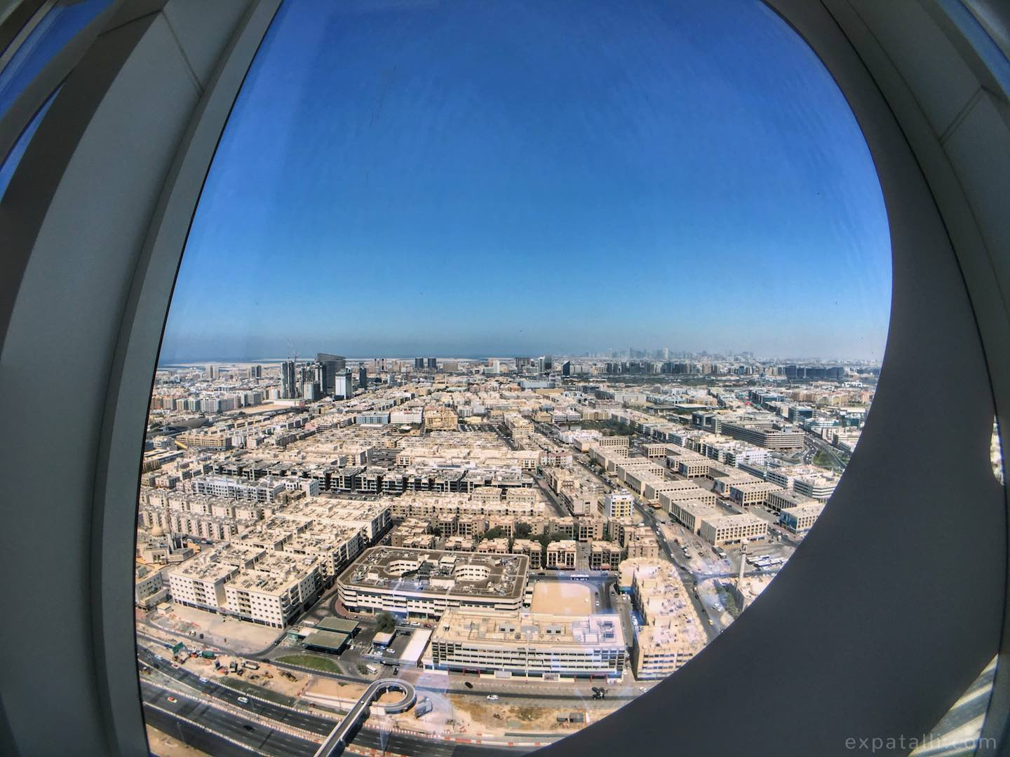 View of Dubai from the Dubai Frame | Image © ExpatAlli.com