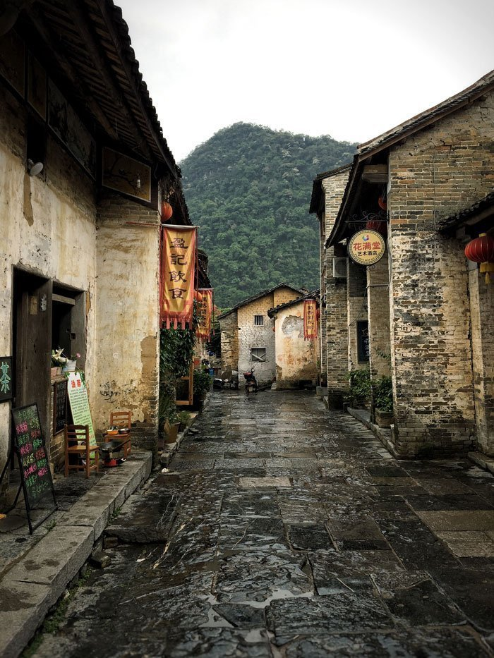 Street in Huangyao Ancient Village, China | Image © ExpatAlli.com