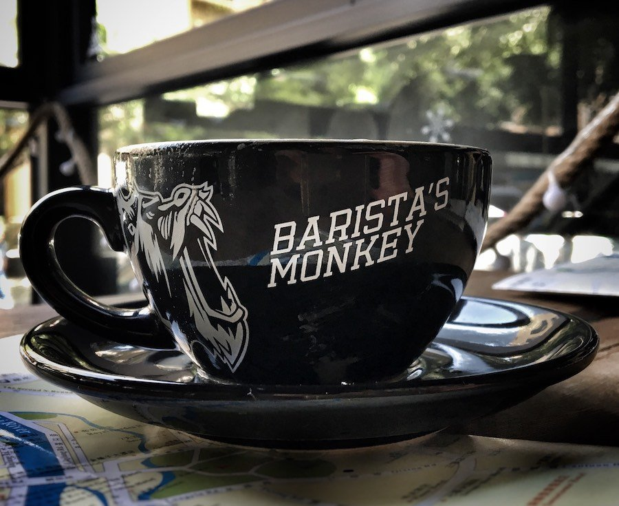 Barista's Monkey Coffee Shop in Guilin | Image © ExpatAlli.com