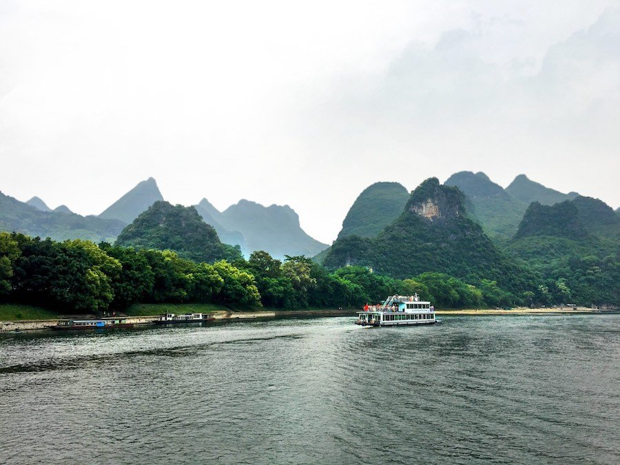 Karst hills on the Li River | Image © ExpatAlli.com