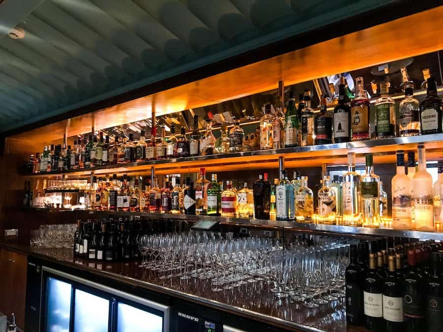 Interior view of Auckland's cozy Housebar | Image © ExpatAlli.com
