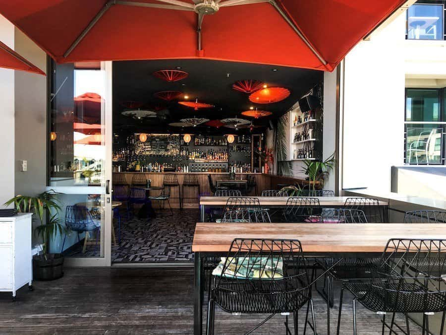 Image of Auckland bar Parasol & Swing from the outdoor patio | Image © ExpatAlli.com
