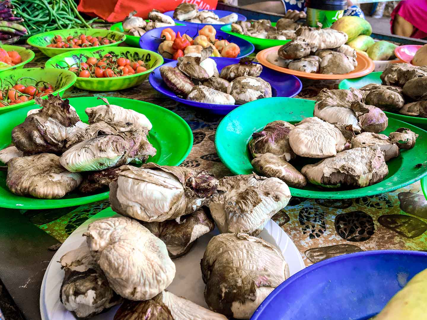 Fresh produce at the Nadi Market