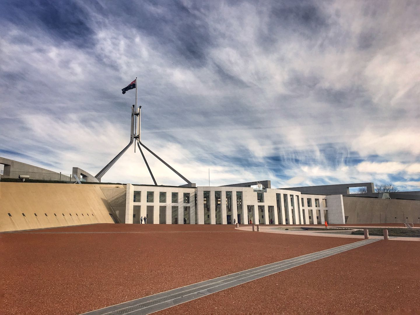 View of Canberra's Parliament Building | Image © ExpatAlli.com