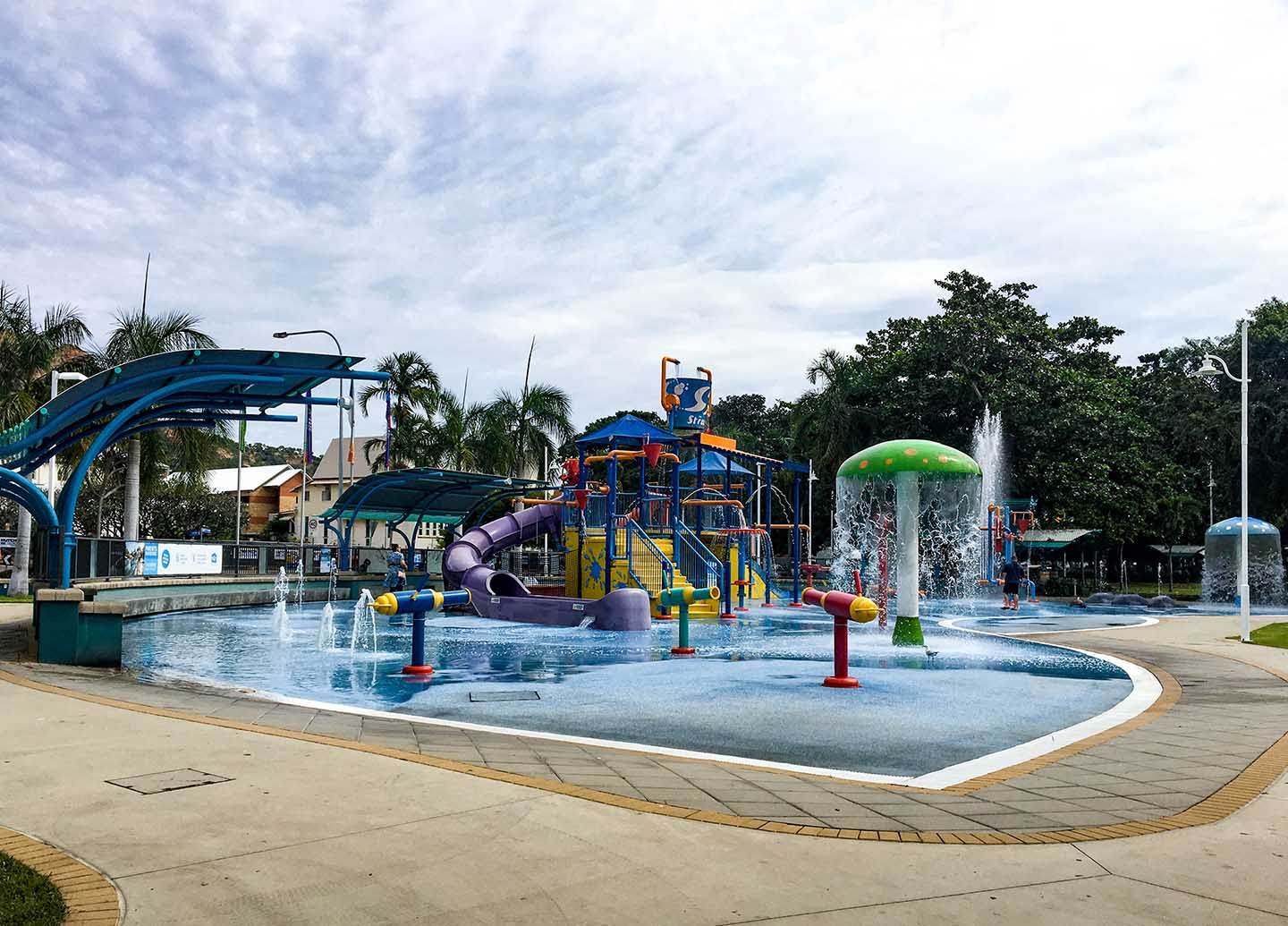 Children's waterpark on The Strand in Townsville | Image © ExpatAlli.com