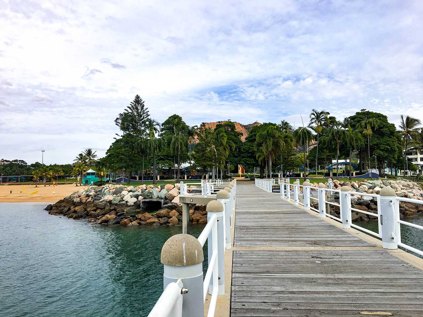 Pier at The Strand in Townsville | Image © ExpatAlli.com