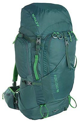 Image of green Kelty backpacking pack