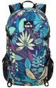 Image of Venture Pal daypack with blue leaf design