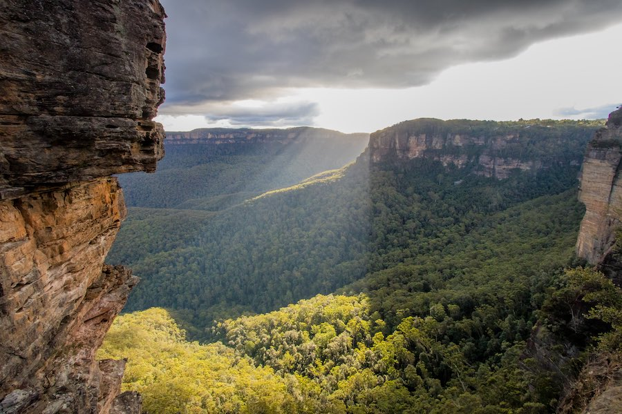 Image of the Blue Mountains in NSW
