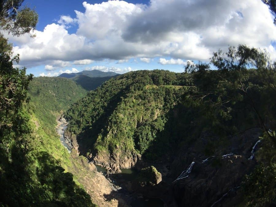 View of Barron Gorge, a stop on the Skyrail cable car | Image © ExpatAlli.com