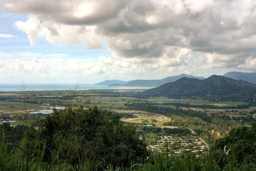 View of Cairns from the Kuranda train | Image © ExpatAlli.com